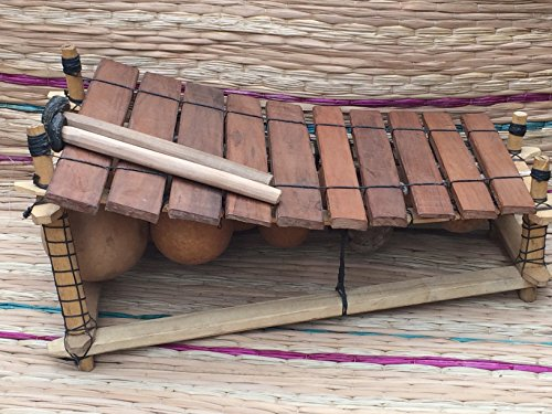 genuine-african-wooden-10-key-xylophone-fair-trade-from-ghana