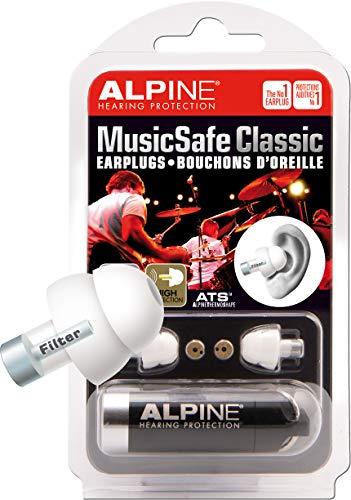 Alpine Tappi classic Musicsafe Migliora la tua esperienza di ascolto senza rischiare danni alludito Tre set di filtri intercambiabili Materiale