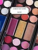 Carnet de notes ligné: A4 - Grand format - 160 pages lignées - Maquillage