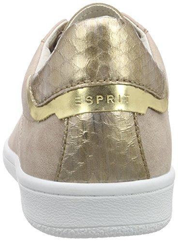 Esprit Mary Fuzzy Lu, Baskets Basses femme Beige - Beige (280 skin beige)