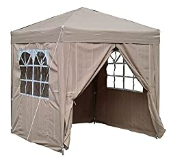 Airwave Pop-Up-Pavillon, 2 x 2 m, beige