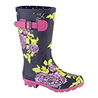 Woodland Girls High Leg Wellington Boot