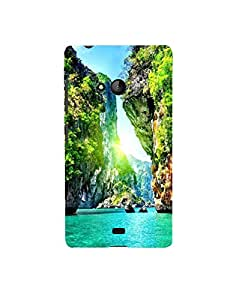Aart Designer Luxurious Back Covers for Nokia 540 by Aart Store.