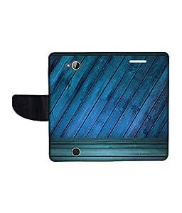 KolorEdge Printed Flip Cover For Acer Liquid Z530 Multicolor - (1478-50KeMLogo11706AcerZ530)