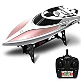 Rc Boat ,KINGBOT 4CH 2.4GHz High Speed 24km/h Electric RC Boat for Pools