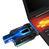 #10: USB Powered Portable Laptop Cooler with Adjustable Speed Vacuum Fan [Hot Air Extraction] Black