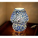TiedRibbons® Decorative Mosaic Lamp For Home/bedroom Décor | Decorative Lights For Bedroom | Diwali Lighting Decoration | Diwali Gifts For Office | Corporate Gifts For Clients