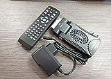 VIDOELETTRONICA Decoder Digitale Terrestre HD Mini Dvb T3 h265 USB Hdmi Presa Scart 180° Televisione Ricevitore, Nero YOUTUBE WIFI