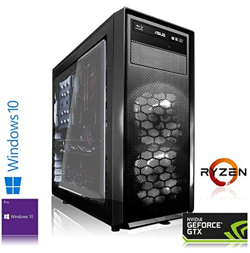 C AMD Ryzen 7 2700 8X 4.10GHz Turbo | 32 GB DDR4 RAM | 500 GB M.2 970 EVO SSD + 4000 GB HDD | NVIDIA GeForce RTX 2080 Ti 11GB Gaming PC ()