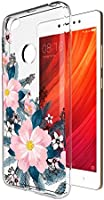 MTT Designer pattern printed Soft Jelly back case cover for Redmi Y1 (Design 136)