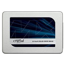 Crucial MX300 CT275MX300SSD1 - Disco Duro sólido Interno SSD de 275 GB (3D NAND, SATA, 2.5 Pulgadas)