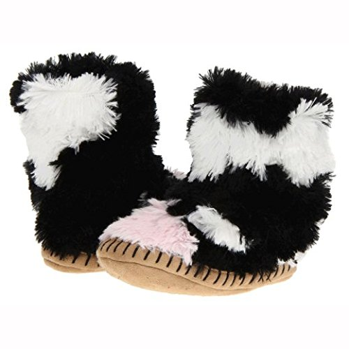 Hatley-Slouch-Cow-Unisex-Kids-Hi-Top-Slippers