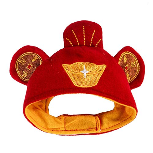 Wongfon Haustier Hut einstellbare Haustierkleidung Partei Kopfschmuck für Katzen und Hunde