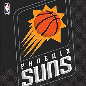 NBA Phoenix Suns 7AM5136291 - Servilleta (33 x 33 cm, 16 Unidades), Multicolor