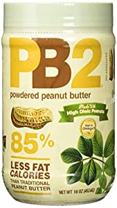 Bell Plantation PB2 Powdered Peanut Butter Natural 16oz / 453g