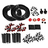 Docooler Micro Drip Irrigation Watering Automatic System Kit for Plant Garden Greenhouse 46m