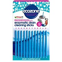 Ecozone Enzymatic Drain Sticks – Helps to Prevent Blockages Forming – 1 Year of Protection Per Packet - ukpricecomparsion.eu