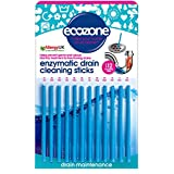 Ecozone Enzymatic Drain Sticks - Helps to Prevent Blockages Forming pack of 1