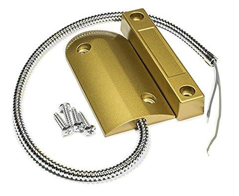 Porte-volet roulant filaire Contact magnétique Contacts CA-60 en or et en cuivre
