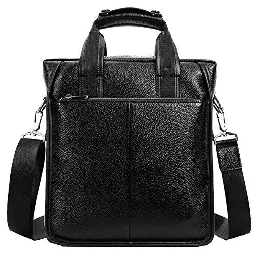 Yy.f Neuen Boutique-Herren-Taschen Lederreisetaschen Businesstaschen Aktenkoffer Taschen Einfarbig Farbe 2 Brown
