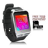 Best Los teléfonos Galaxy Indigi - Indigi® 2en 1Smartwatch teléfono (desbloqueado de fábrica) Bluetooth Review