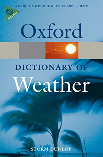 A Dictionary of Weather (Oxford Quick Reference) (English Edition)