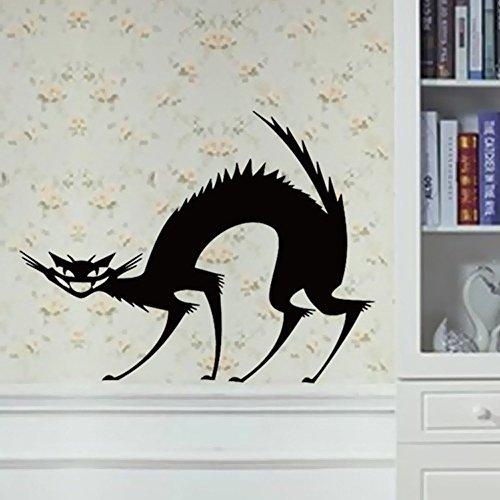 (OIKAY Wandaufkleber Happy Halloween Home Haushaltszimmer Wandaufkleber Wandbild Decor Aufkleber Abnehmbare Neue hausgarten küche zubehör dekorative aufkleber wandbilder)