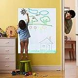 Lifetree Whiteboard selbstklebende Tafelfolie weiß 45 * 200cm