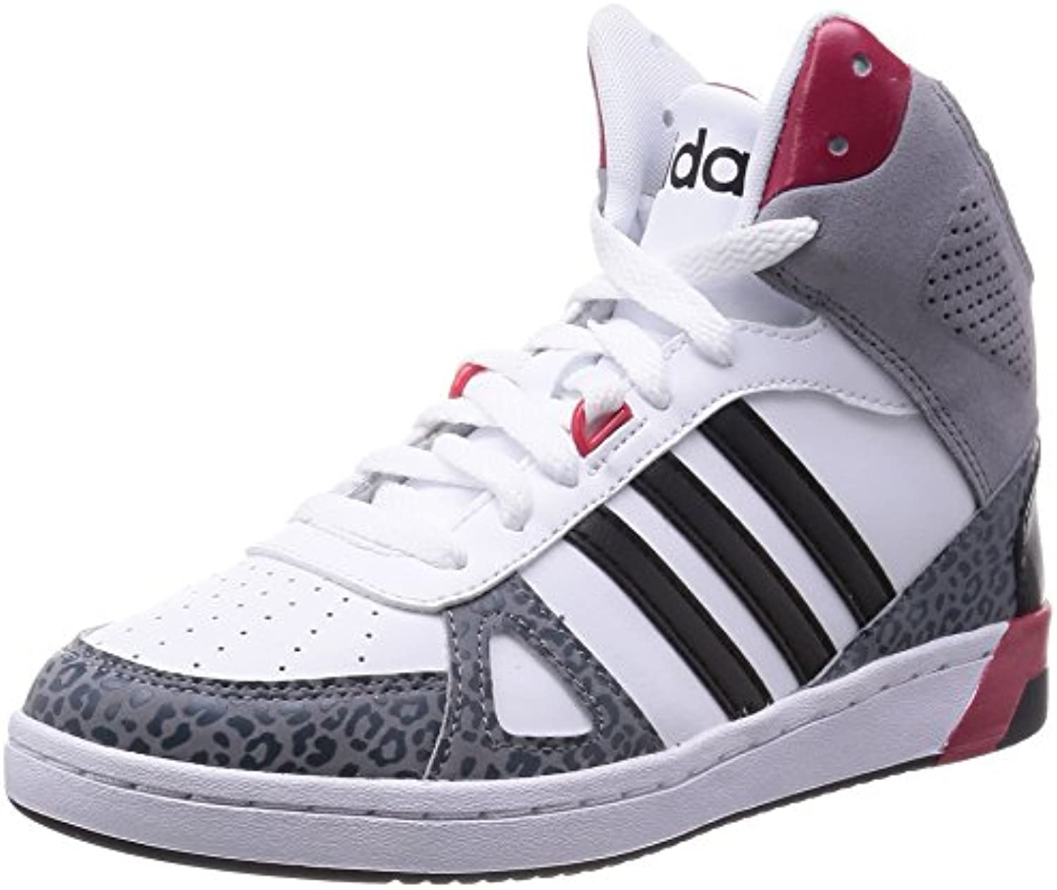 Baskets Femme Chaussures Hoops Neo Mid Team Adidas xq58YwXx