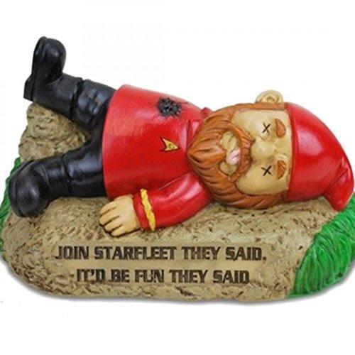 Garden Gnome (BigMouth Inc Star Trek Garden Gnome Red Shirt)