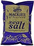 Mackie's of Scotland Sea Salt Potato Crisps 40 g (Pack of 24)