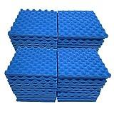 ToDIDAF, 48 pannelli fonoassorbenti in schiuma ad alta densità, ideali per studio di karaoke, sala riunioni, fonoassorbenti, 30 x 30 x 2,5 cm, I