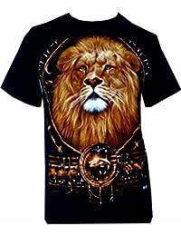 Lion Tiger Panther Husky Dog T shirt Cute Animals Printed T Shirts FREE P&P