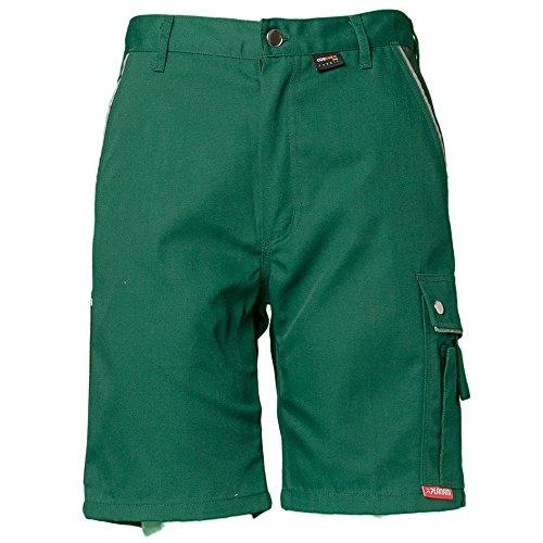 Planam Shorts Canvas 320, größe L, grün, 2171052