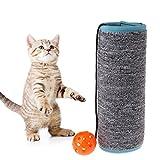 Chaunce Alfombrilla para Gato con Forma de Bola para rascar y Proteger Muebles
