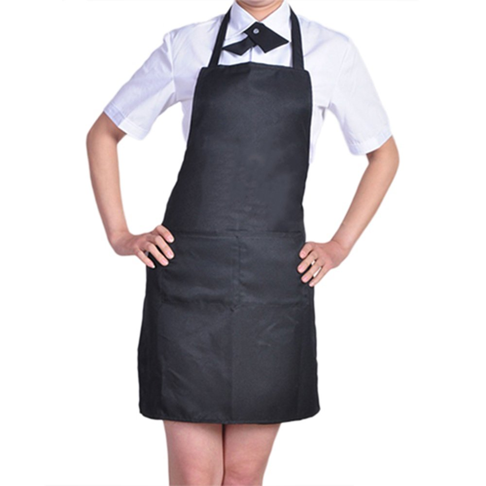 Blue apron npr - Plain Apron With Front Pocket Kitchen Cooking Craft Baking Purple Amazon Co Uk Kitchen Home