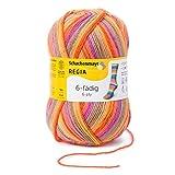 REGIA 6-fädig Color 9801285-06362 flowers Handstrickgarn, Sockengarn, 150g Knäuel