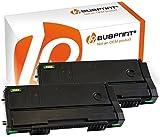 Bubprint 2 Toner kompatibel für Ricoh 407166 für Aficio SP100 SP100e SP100SF SP100SU SP112 SP 112 SP112e SP112SF SP112SFe SP 112SU SP112SUe Schwarz