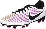 Nike Unisex Baby Jr Magista Onda FG Fußballschuhe, Blanco (White/Black-Pink Blast-Volt), 37.5 EU
