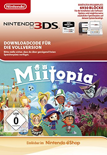 Miitopia [3DS Download Code]