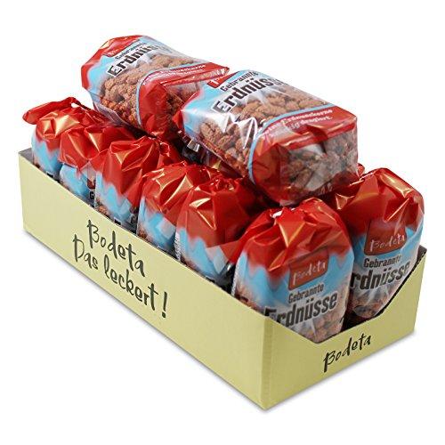 Preisvergleich Produktbild 14er Pack Bodeta Gebrannte Erdnüsse dragiert (14 x 175 g) im Bodenbeutel