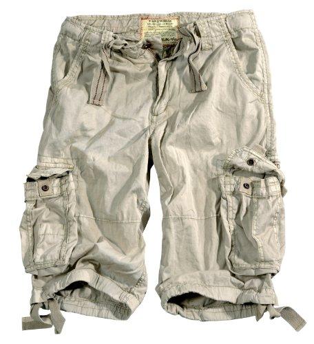 Alpha Industries Jet Shorts Herren Short kurze Hosen 10108 Bone White