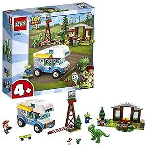 LEGO Juniors Toy Story 4 Vacanza in Camper, Gioco per Bambini, Multicolore, 282 x 262 x 76 mm, 10769  LEGO