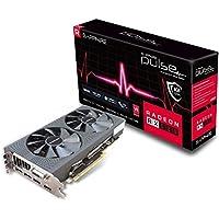 Sapphire Pulse Radeon RX 580 8G GDDR5 Dual HDMI/DVI-D/Dual DP Graphics Card - Black
