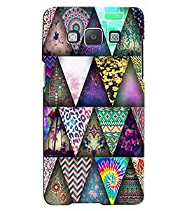 Citydreamz Colorful Triangles\Pattern Hard Polycarbonate Designer Back Case Cover For Samsung Galaxy J2 Pro