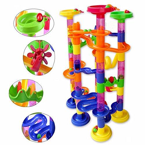 (Neue Produkt Piercings DIY Konstruktion Marmor Race Run Labyrinth Bälle Pipeline Typ Track Bausteine Baby Educational Block Spielzeug)