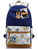 Leaper Casual Style Lightweight Canvas Laptop Backpack Cute Travel School College Shoulder Bag/bookbags/daypack