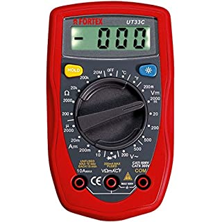 abratools UT33 °C Digital Multimeter