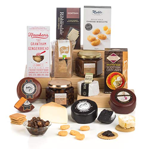 Hay Hampers The Cheerful Cheesemonger - Cheese Selection Gift Set Hamper Box