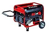 Einhell Stromerzeuger (Benzin) TC-PG 5500 WD (7 kW, Dauerleistung bis 3600 W/3000 W, 230 V & 400 V-Anschlüsse, 4-Takt-Motor, 25 l-Tank, Ölmangelsicherung, AVR-Funktion)